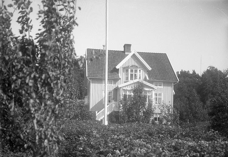 """Enligt fotografens journal nr 6 1930-1943: """"Andersson, Fru Selma (Villan) Här""""."""