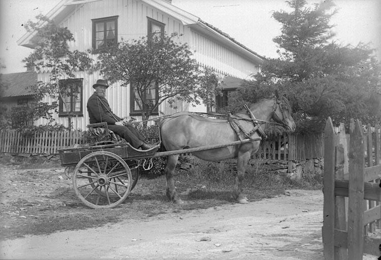 """Enligt fotografens journal nr 1 1904-1908: """"Rutgersson, Vulseröd Jörlanda""""."""