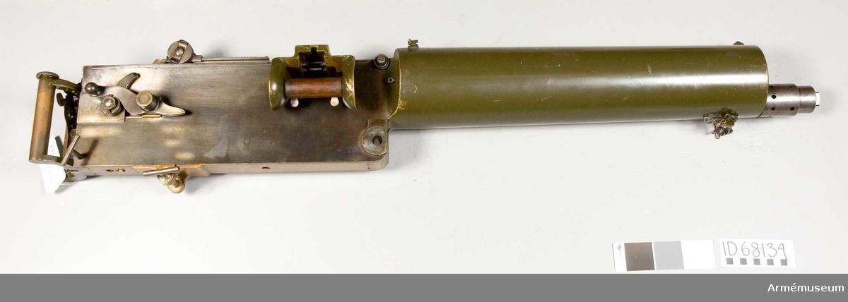 Grupp E IV.  Kulspruta m/Maxim MG, Ryssland. 1914-1918.