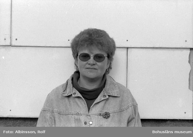 """Enligt fotografens noteringar: """"Ing-Marie Artursson.""""  Fototid: 1996-04-23."""