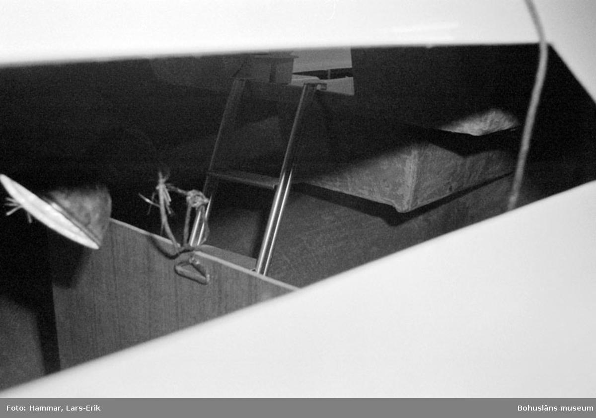 "Motivbeskrivning: ""Widholms Industri AB, inredningsdetalj Beason 31."" Datum: 19800911"