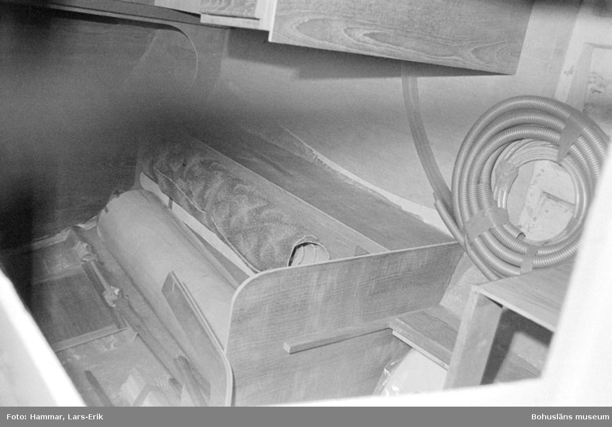 "Motivbeskrivning: ""Widholms industri AB, inredning, Beason 31."" Datum: 19800911"