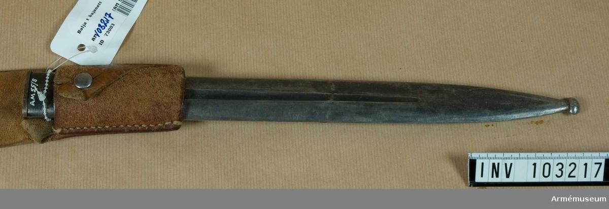 Balja till bajonett m/1914