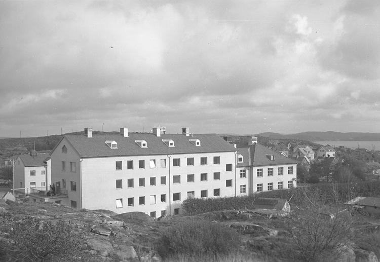 """Text till bilden: """"Nya Lasarettet. 1948.10.13"""""""