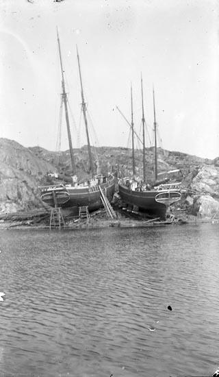 Slipen på Vasseröds varv, 1910-talet.