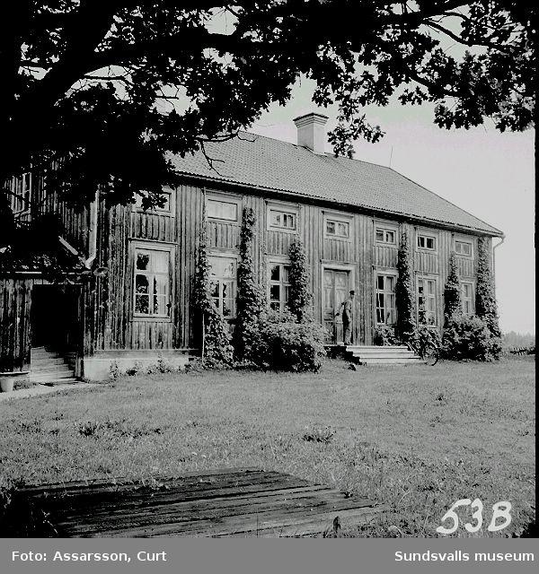 Ångströmska gården fr. 1850-talet, Ångebyn.
