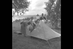 Ungdomsläger i Tuna.