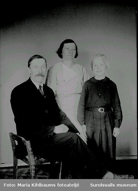 Familjeporträtt.