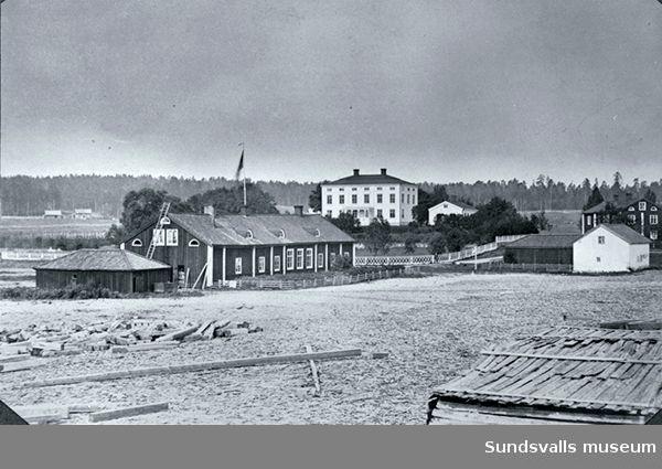 Vivstavarv - Vivstavarvs skola, herrgård, kontor