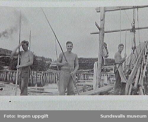 Fr v Gunnar Nordström, Anders Höglund, Malte Vennerström.