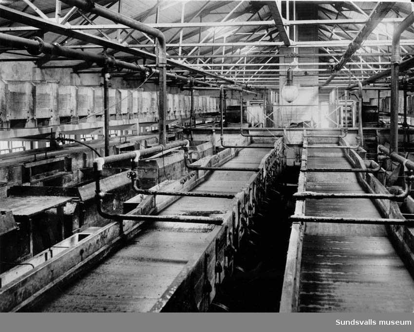 Sileriet i Fagerviks sulfitfabrik.