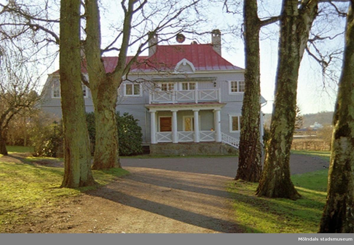 Rudströmska villan (f.d Forsåker 1:122) med fasad åt norr, Brännåsvägen 2. Hör ihop med: 2002_0662 - 0668.