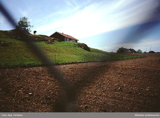 Ett gammalt bostadshus, Ranntorp 1:16 i Ranntorp, Lindome. Huset är nu rivet. Maj 1994.