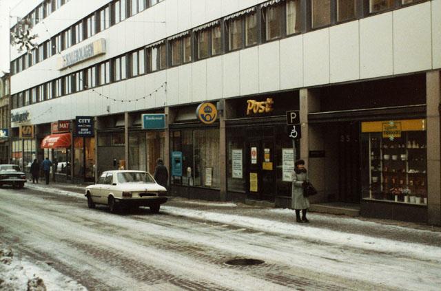 Postkontoret 451 03 Uddevalla Kungsgatan 35