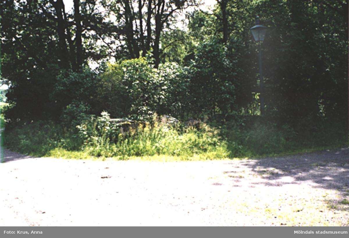 En gatlykta vid Spårred 1:12, 1999.