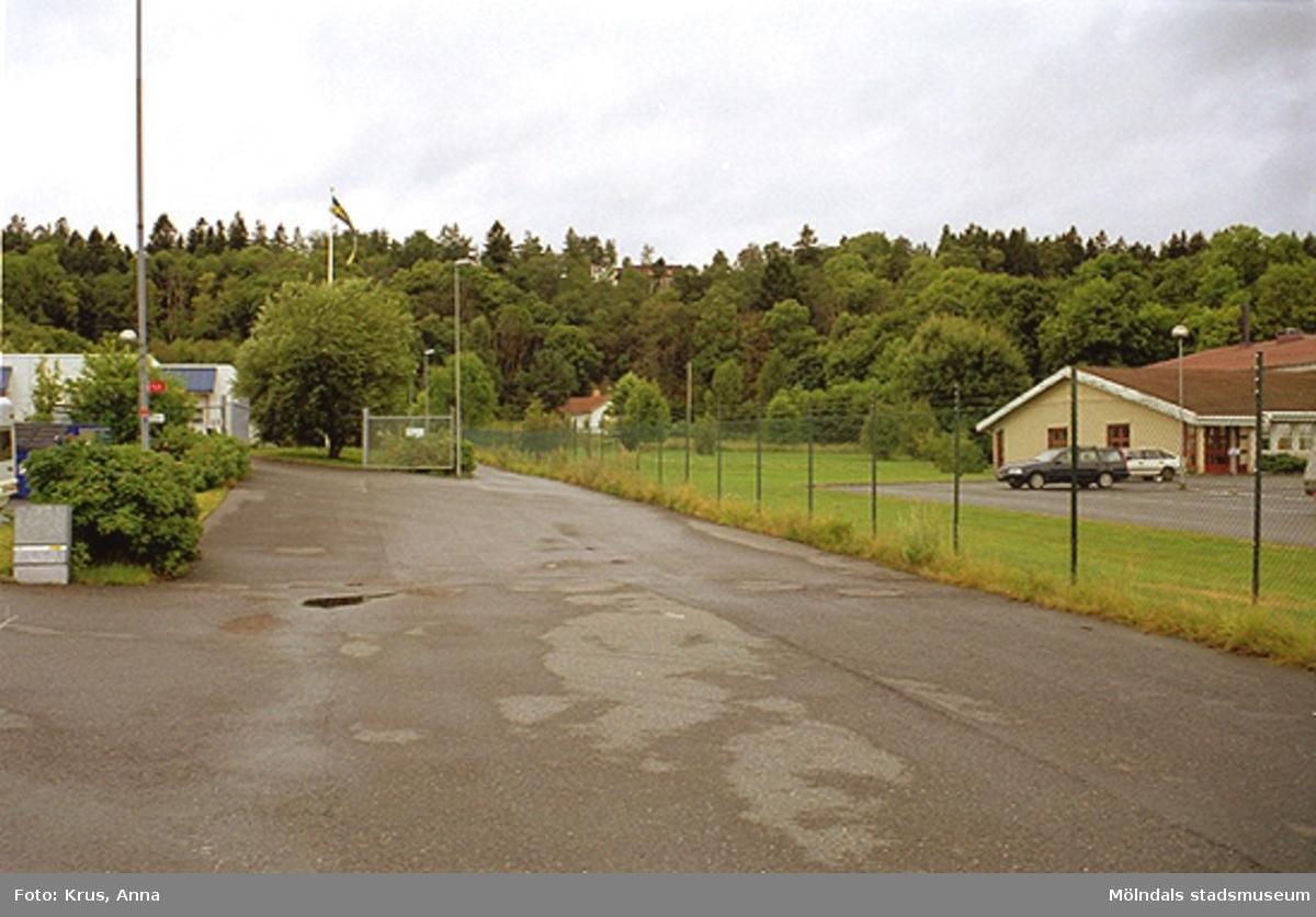 Översikt/boningshus/miljö mot norr. ? 1:88.