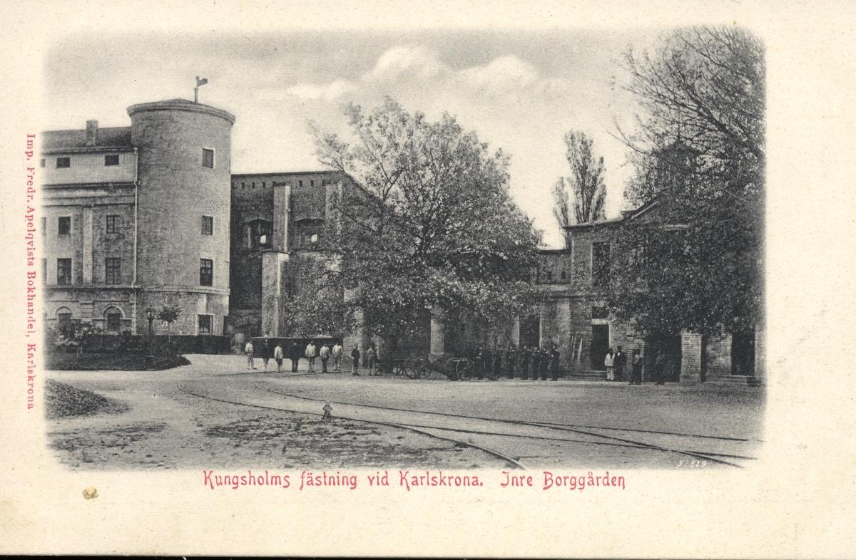 Kungsholms fästning, Inre borggården