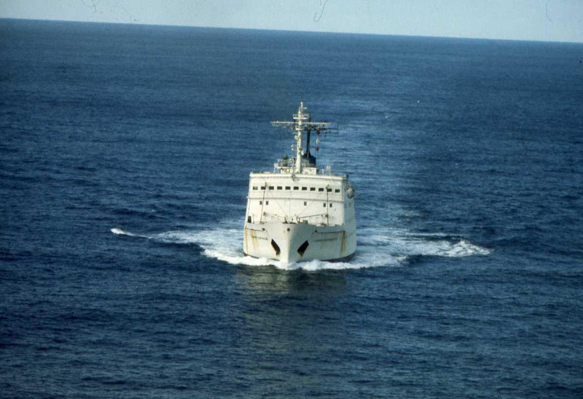 Russisk fartøy av Dobrynya Nikitich - klassen og heter Vladimir Kavrayski.