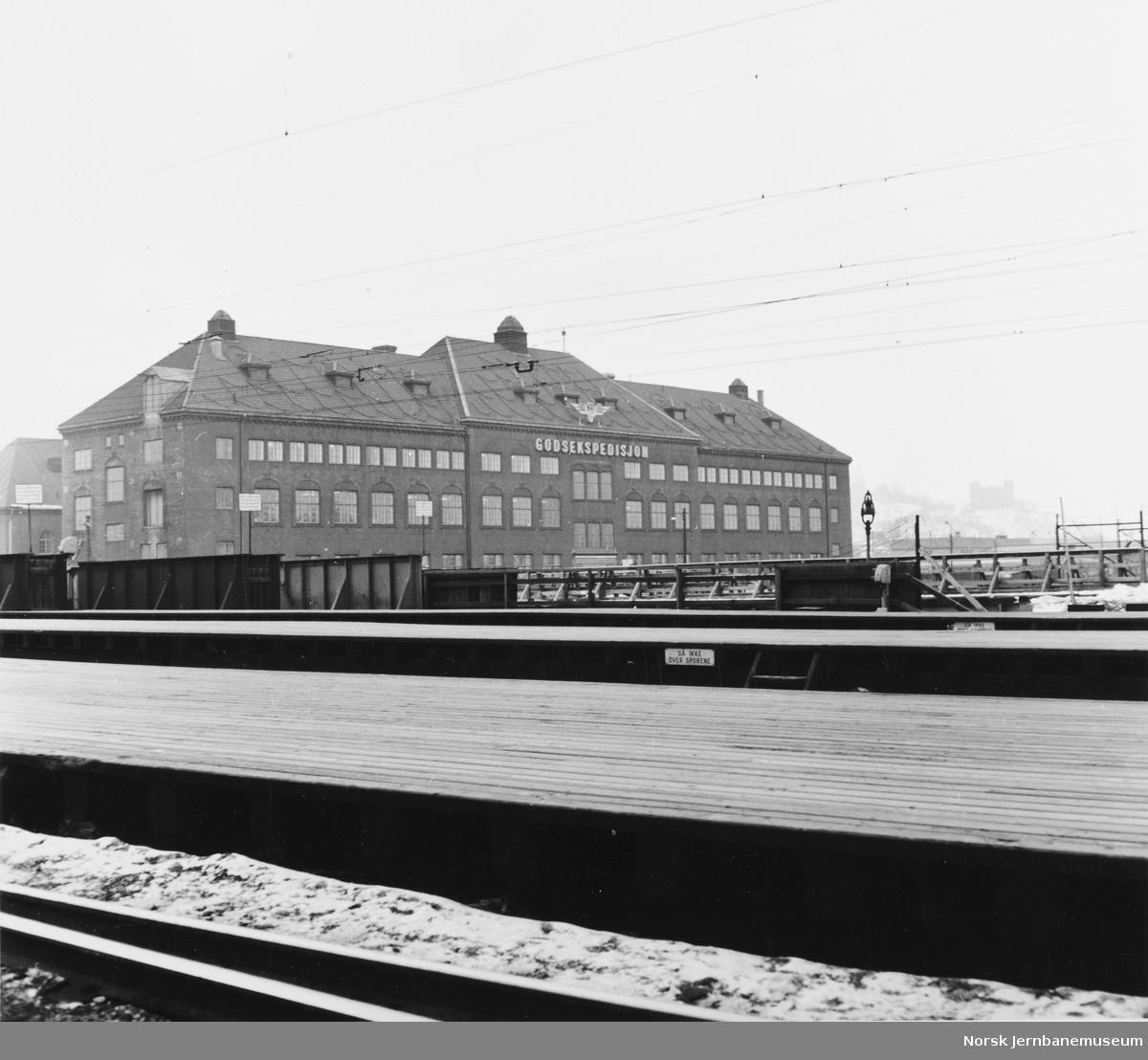Godsekspedisjonsbygningen på Oslo Ø