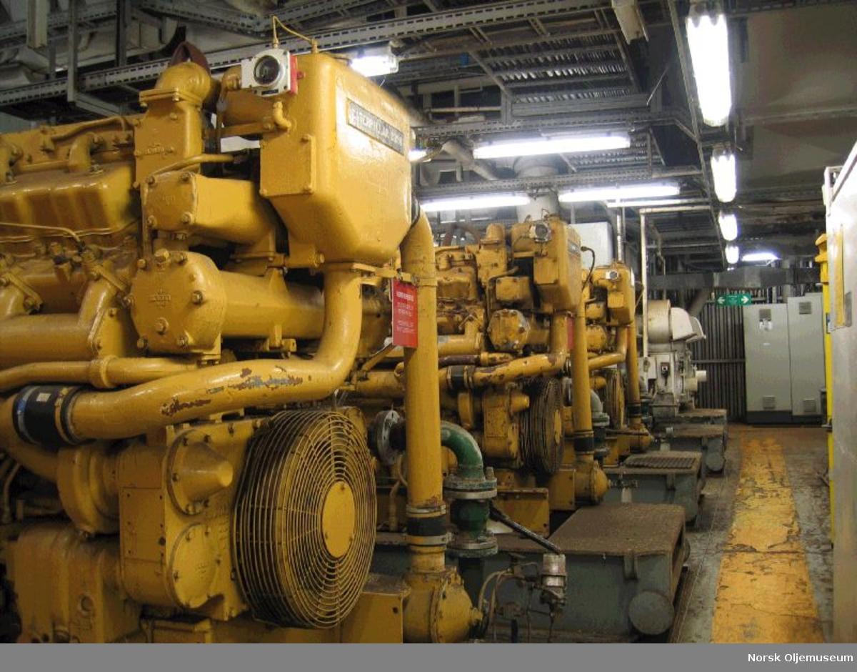 Ekofisk 2/4 B. Diesel ac & dc generator