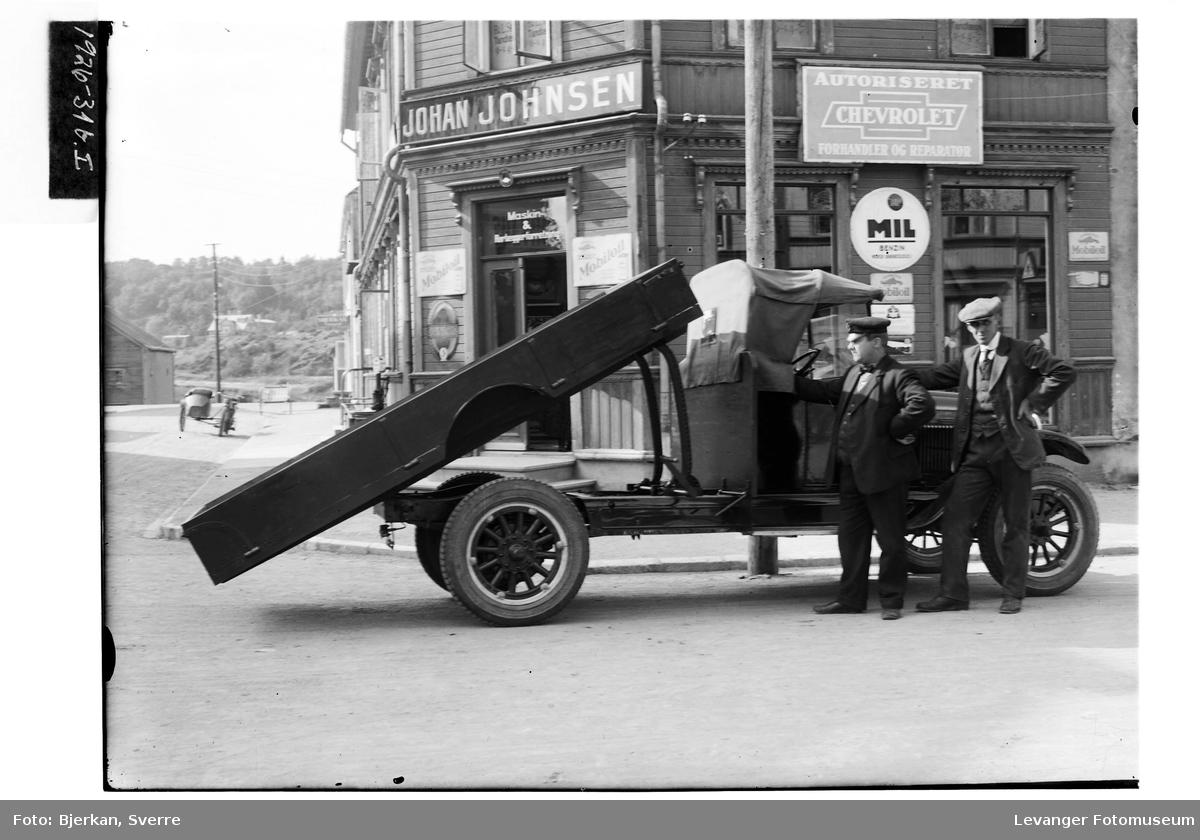 Rørlegger Johansen's lastebil II