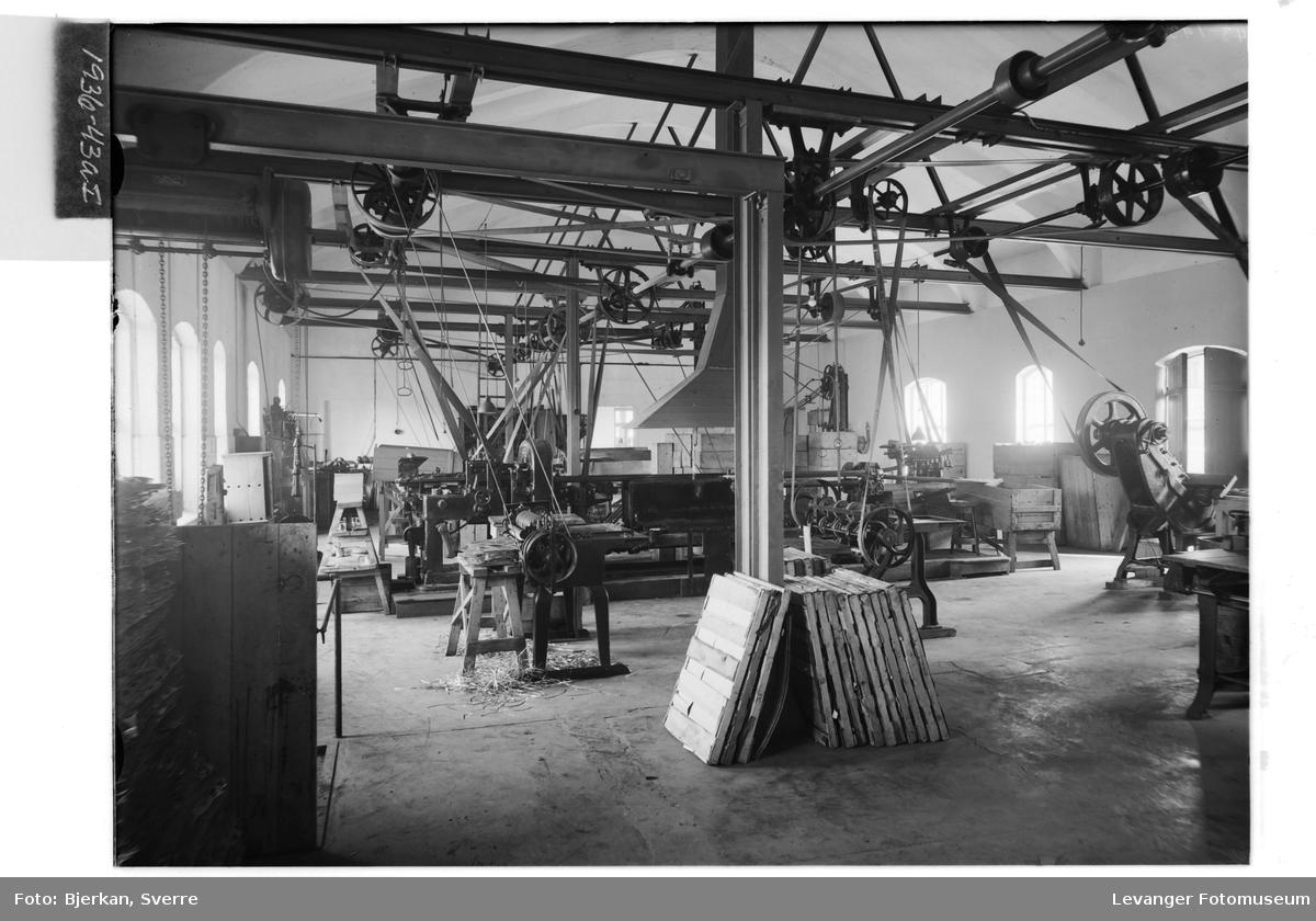 Levanger Melkefabrikk, interiør I