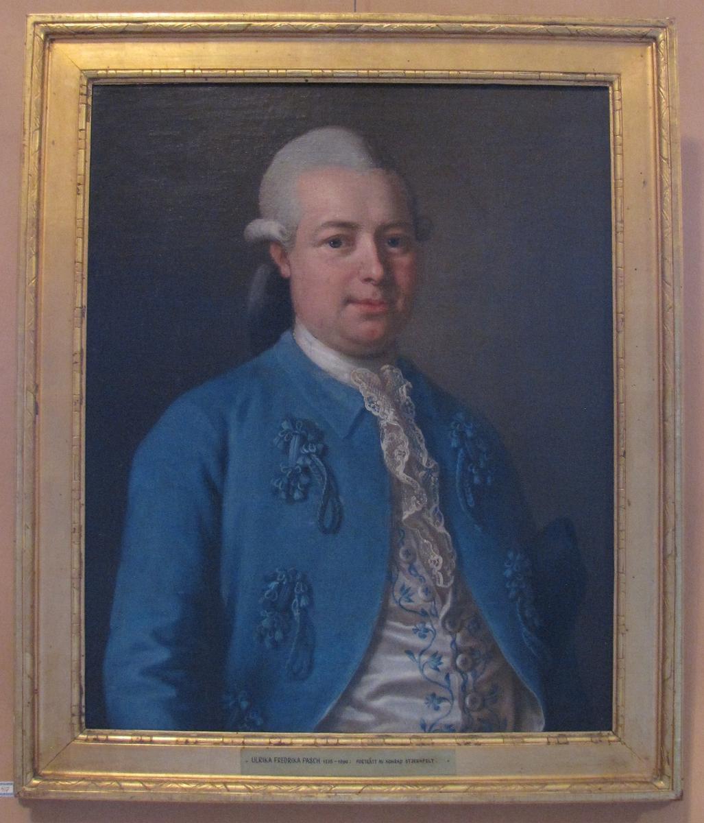 Porträtt av Konrad Stjernfeldt.