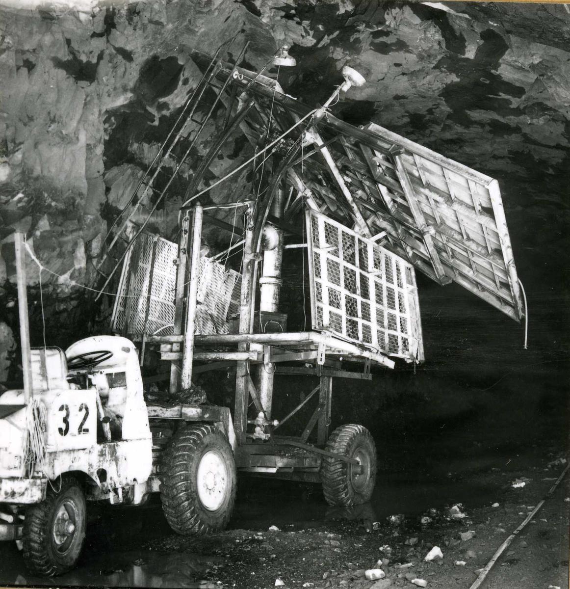 Tilløpstunnel frå Vesås. Tunnel innvendig.