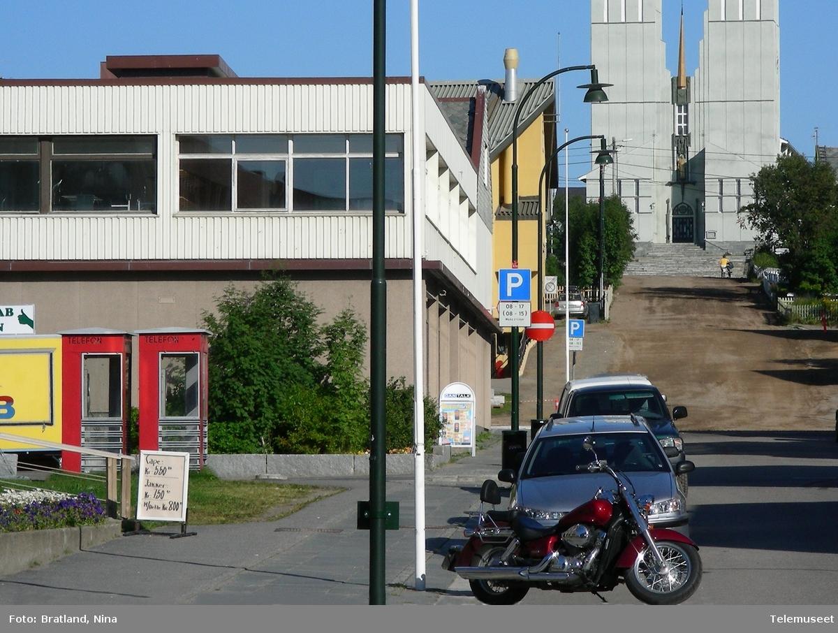 Telefonkiosk i Vadsø