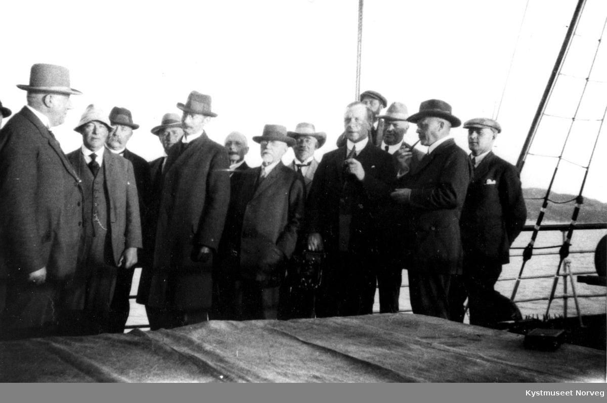 Arbeidsutvalget for Namdalsbanen på befaring