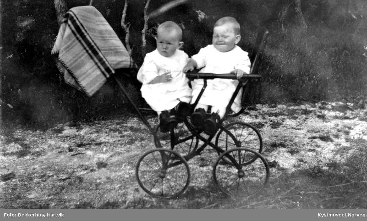 Eldri og Mimmi Waagø