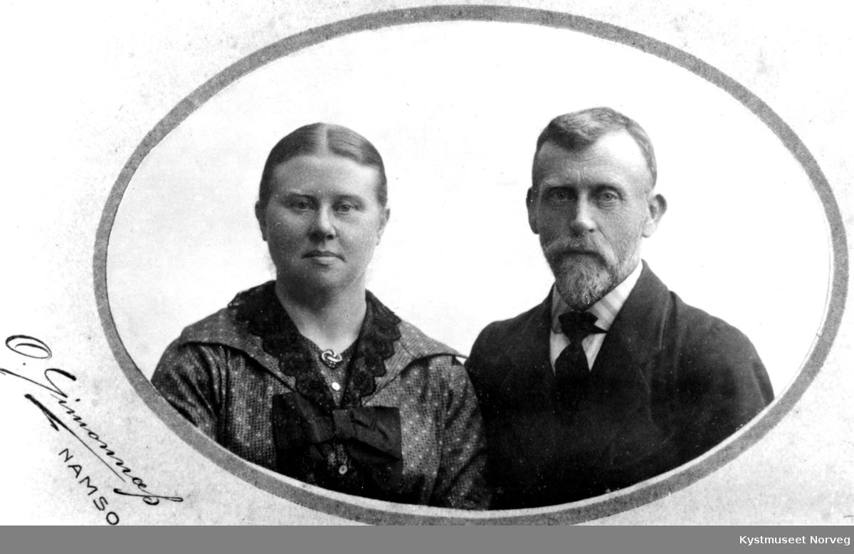 Mette og Anton Hansen Dragvik
