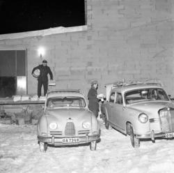 "Enligt notering: ""Distributionen den Nya Pressen dec 1960""."
