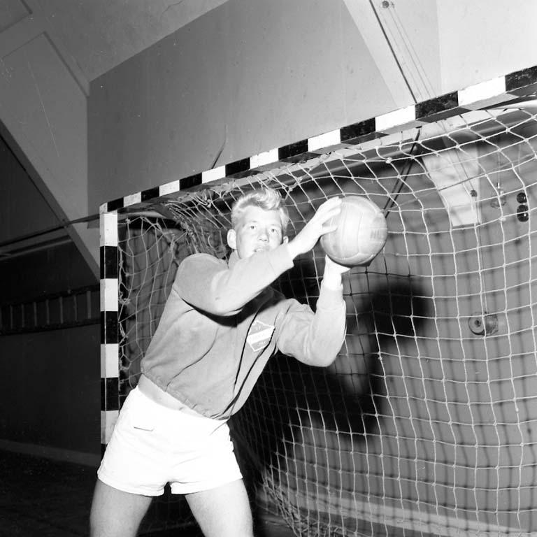 Handbollsträning