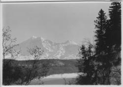 'Vulkanen Schivelutch (1) :: från byn Jelovka. :: Vy mot vul