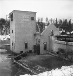 Nedmontering och sprängning av Nedansjö kraftverk.