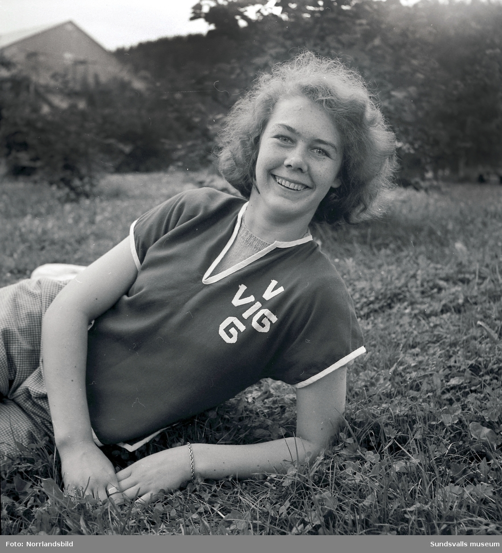 Birgitta Rova, IK Vig, längd- och höjdhopp.