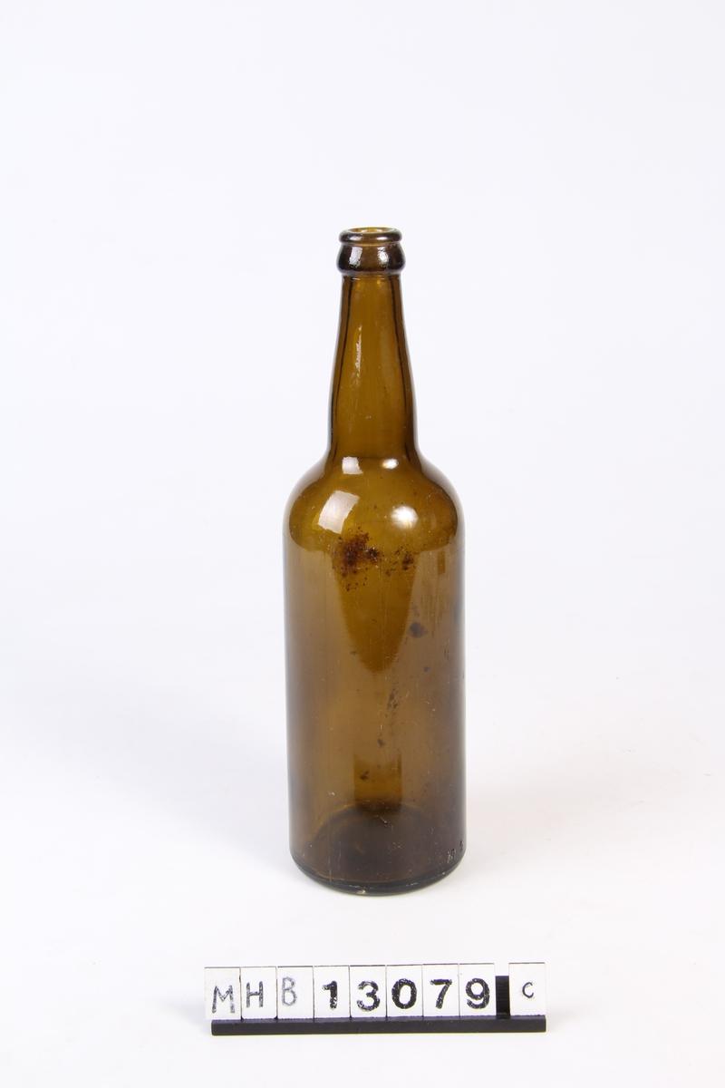 Flaske uten lokk