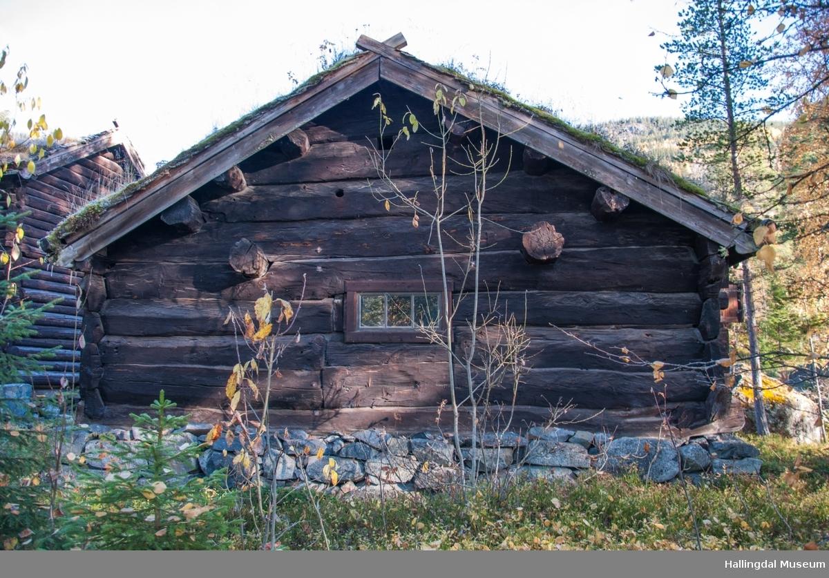 Fjøs fra Halvorsgard i Sudndalen