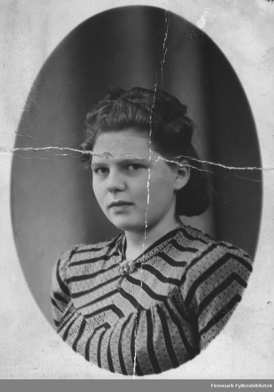 Grethe Sivertsen, 18 år gammel