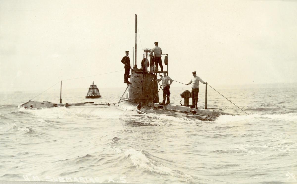 Brittisk ubåt vid Gibraltar?