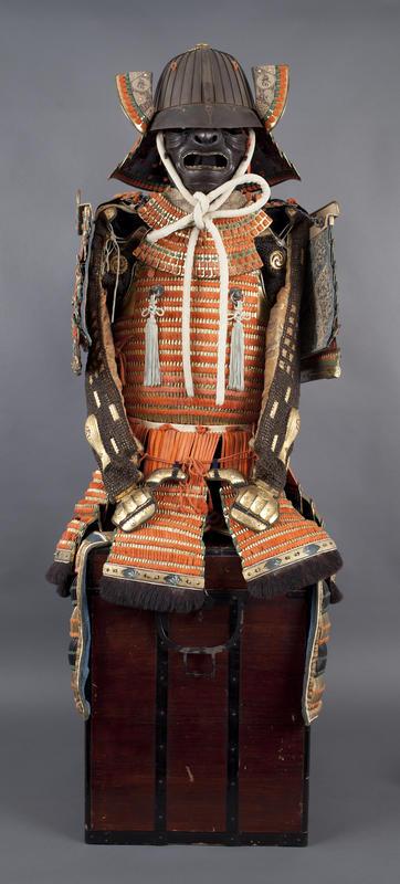 En japansk samurairustning fra 1800-tallet