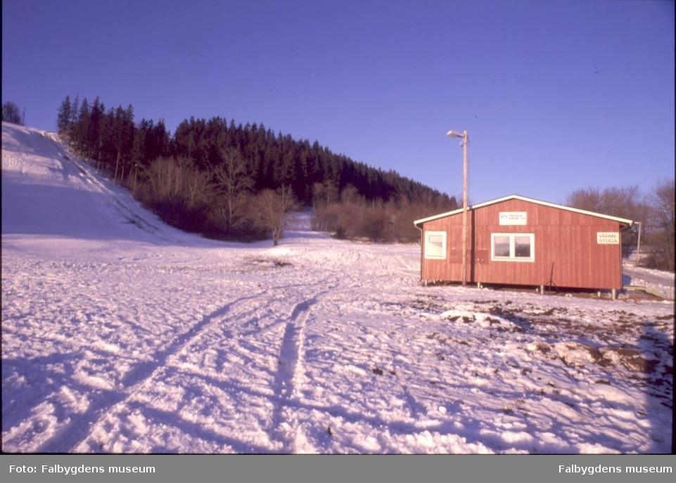 Slalombacken, Mösseberg, Falköping.