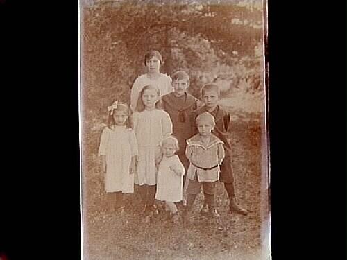 Familjegrupp, 7 personer.Emil Lundin