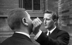 Fick på käften av Törnqvist 23 juni 1965