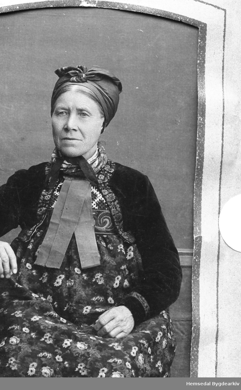 Helga nordre Venåsbakko (1826-1927) frå Hemsedal, 90.6