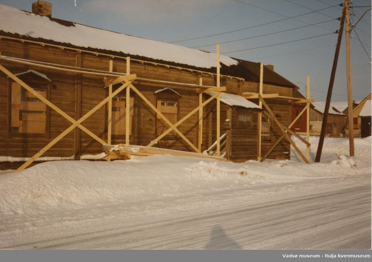 Kumpulagården under restaurering, ca 1984.