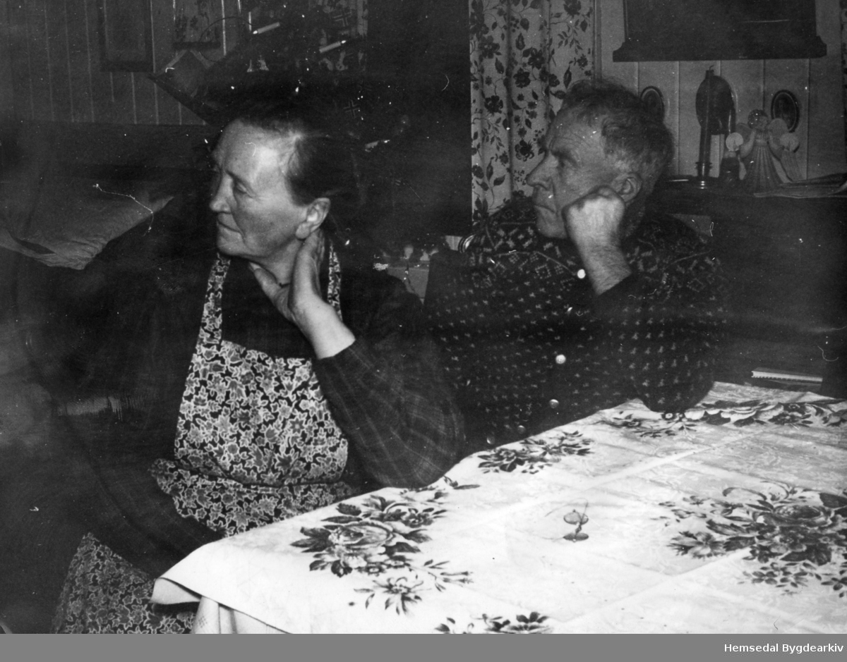 Andres Viljugrein (1883-1959) og kona Oline S.(1889-1959) , fødd Jordheim