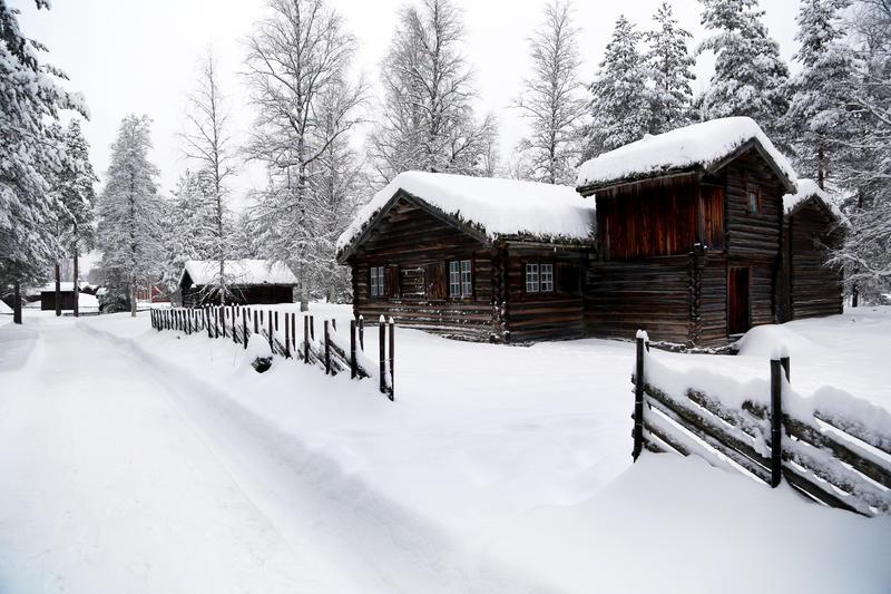 Barfrøstue vinter