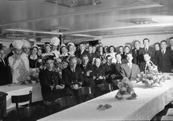 Bergenske Dampskipsselskaps 100 års jub. på M/S Nordstjernen